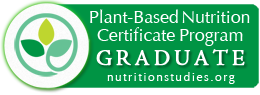eCornell Nutrition Studies Plant-Based Nutrition Certificate Badge